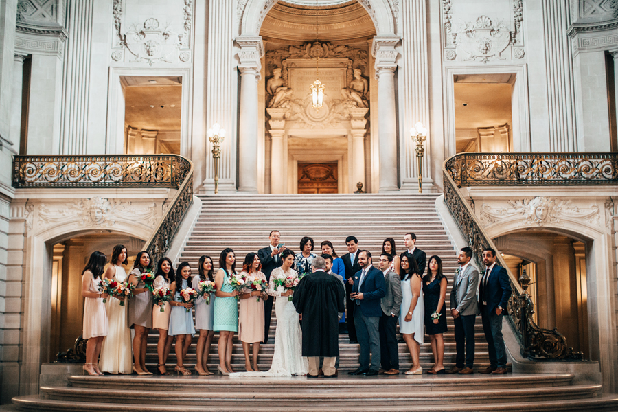 San Francisco City Hall Wedding Ben And Colleen Photographers